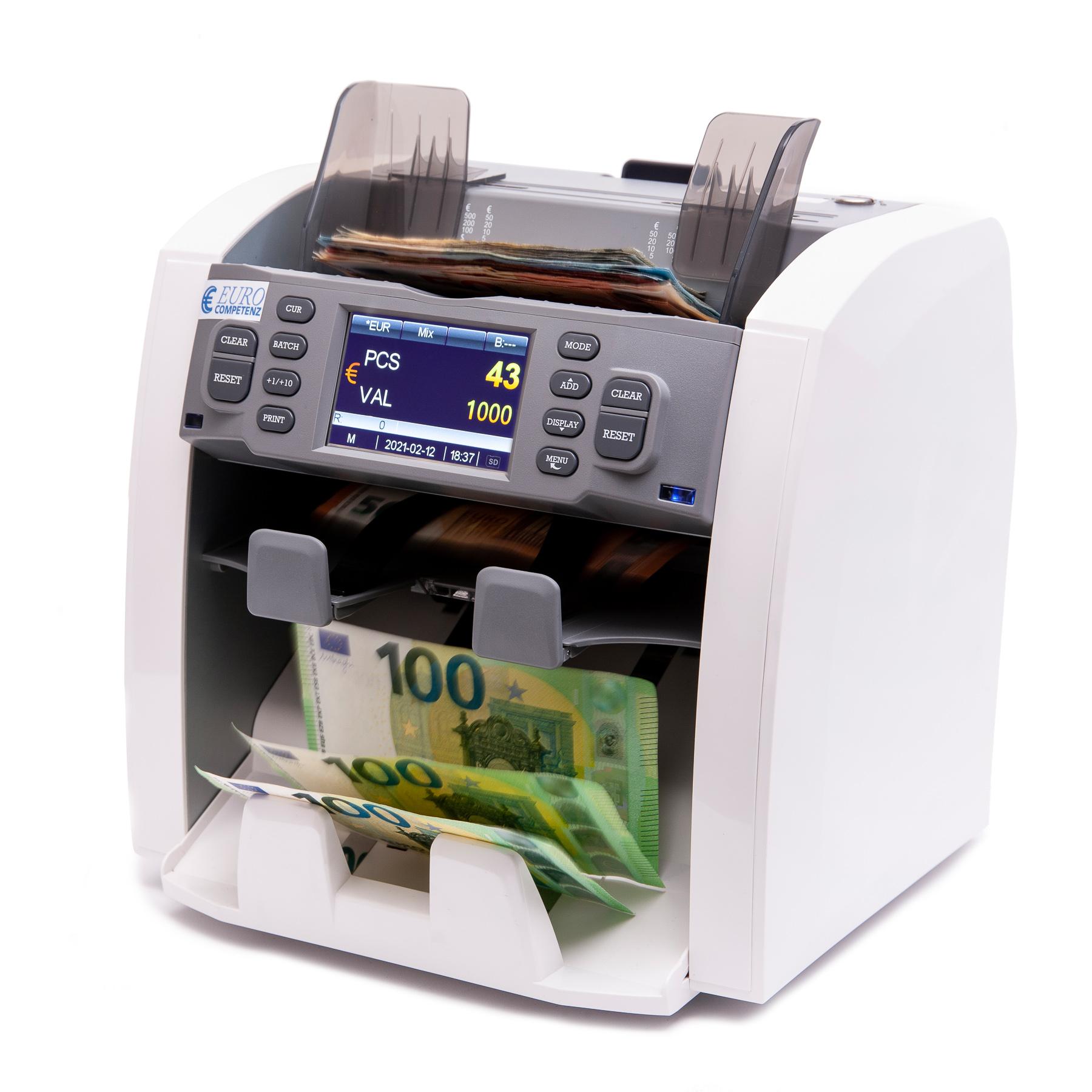 Selezionatrice di banconote EC-8122